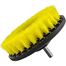 Chemical Guys ACC_201_BRUSH_MD Medium Duty Carpet Brush with Drill Attachment, Yellow