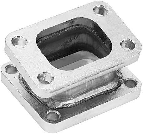 Suuonee Adaptateur de collecteur turbo accessoire automatique pour adaptateur de bride de collecteur collecteur T3 /à T4 /à 15 degr/és