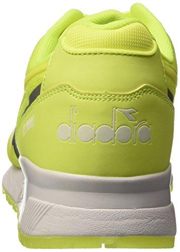 Diadora N9000 mm Bright, Scarpe Low-Top Unisex-Adulto Giallo (97009 Giallo Fluo)