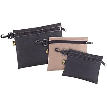 CLC Custom Leathercraft 1100 Multi-Purpose Clip-on Zippered Poly Bags