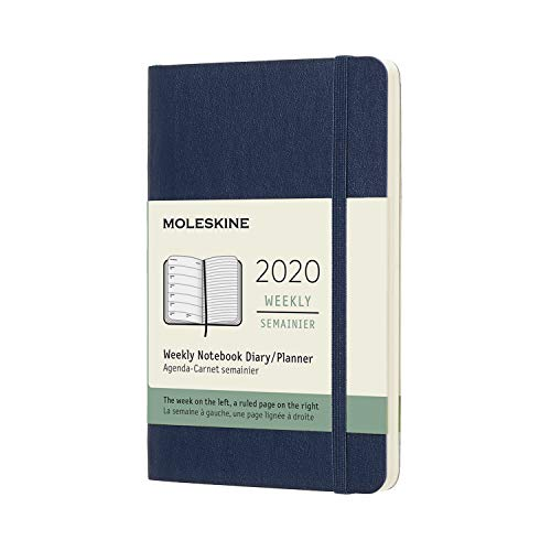 - Moleskine Classic 12 Month 2020 Weekly Planner, Soft Cover, Pocket (3.5