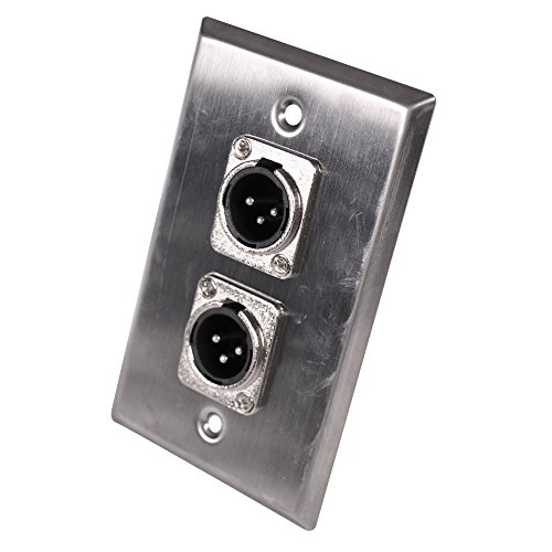 Dual Stereo Audio Wall Plate - 9