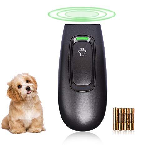 Anti Barking Control Device, 16.4 Feet Handheld Ultrasonic Dog Bark Deterrent, Safe Stop Barking Training Device for…