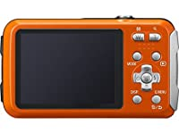 Panasonic DMC-TS25 Waterproof Digital Camera with 2.7-Inch LCD (Orange) DMC-TS25D (Certified Refurbished) from Panasonic