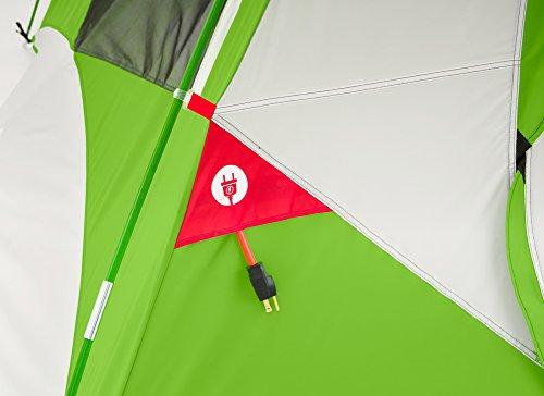 Columbia Pinewood 6 Person Dome Tent (Fuse Green) & Columbia Pinewood 6 Person Dome Tent (Fuse Green) - Camping Companion