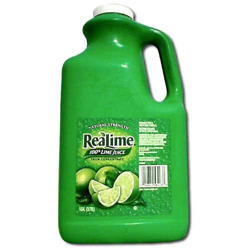 Real Lime Juice (1 Gallon) 100% Lime Juice