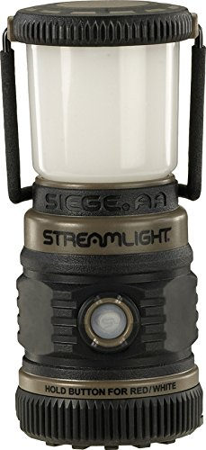 Streamlight 44941 Siege 200 Lumen Ultra-Compact Work Lantern (Coyote Green, 3xAA Battery)