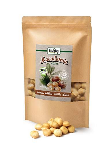 Biojoy BIO-Nueces de Macadamia crudas calidat Premium | Nueces de macadamia orgánicas de producción controlada bío | Macadamia nueces naturales, ...