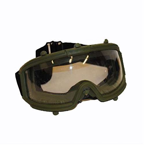 UKARMS 2605M Full Seal Airsoft Safety Goggles (Green)