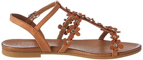 Inuovo 7355 - Cierre En T Mujer marrón (Coconut)