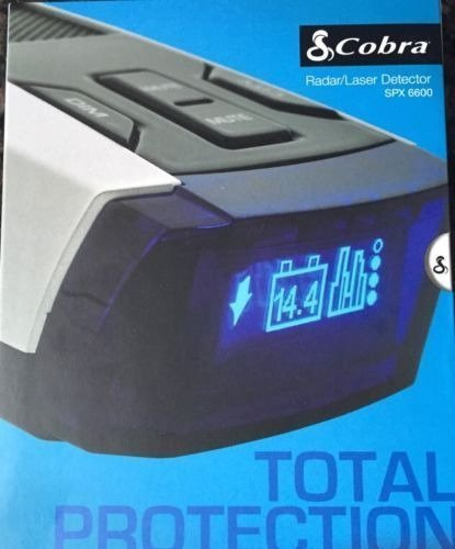 Cobra SPX-6600 15-Band Radar / Laser Detector