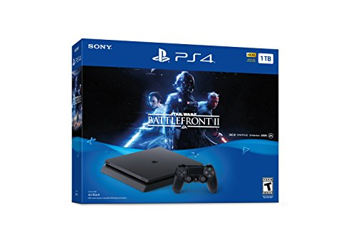 PlayStation 4 Slim 1TB Console – Star Wars Battlefront II Bundle [Discontinued]
