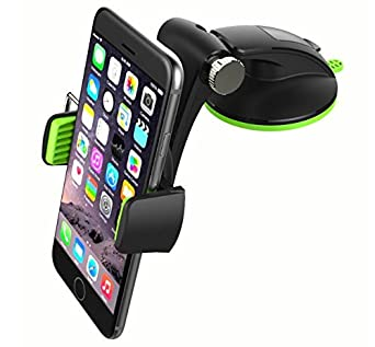 Phone Holder for iPhone X 8//7 Plus S8 Plus S7 S9 Calmpal Universal Dashboard Smartphone Car Mount Holder Edge//LG//Nexus Calmapl Cell Phone Car Mount 6S Plus//Galaxy S8 S7 6S