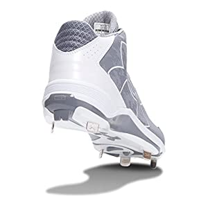 Under Armour UA Ignite Mid 11 Baseball Gray