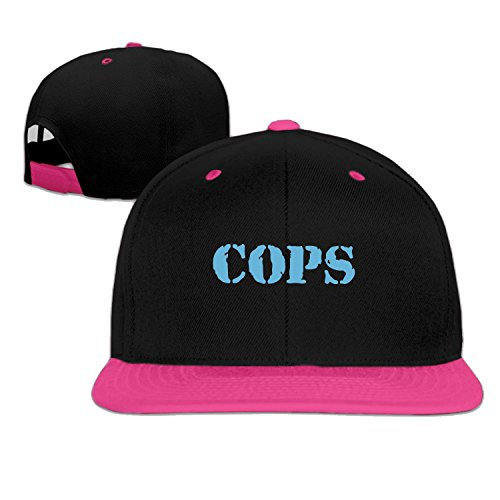 [Unisex Chicago police trucker hat Pink One Size] (Cheap Police Hats)
