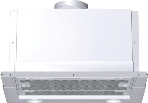 Siemens LI44630 - Campana (400 m³/h, Built-under, Halógeno, Plata, Color blanco, Metal, 320W): Amazon.es: Hogar