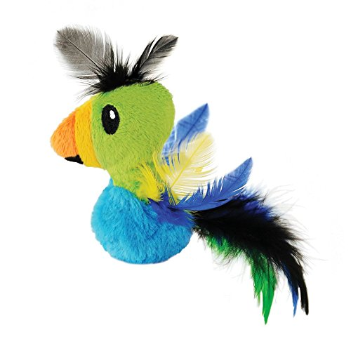 Feather Toucan Catnip Filled Cat Toy by Petstages ()