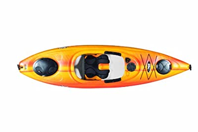 Pelican Liberty 100X Kayak, Fade Red/Yellow by Pelican