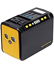 ROCKSOLAR Weekender RS81 Portable Power Station 88Wh, 80W PEAK 120W, 24000mAh, AC/DC output + 5 USB, compact and ultra-lightweight (1.9LB), easily fits into a handbag/backpack, a perfect day-tripping companion