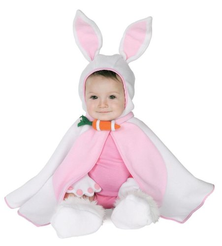 Alice In Wonderland Costumes Ideas For Baby - Lil Bunny Caped Cutie Baby Infant