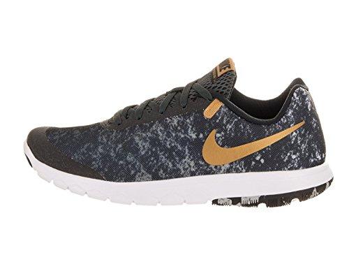 Nike Femmes Flex Expérience Rn 6 Prem Chaussure De Course Noir / Or-m