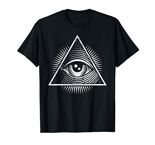 All Seeing Pagan God Illuminati Eye Iconic Ironic Shirt