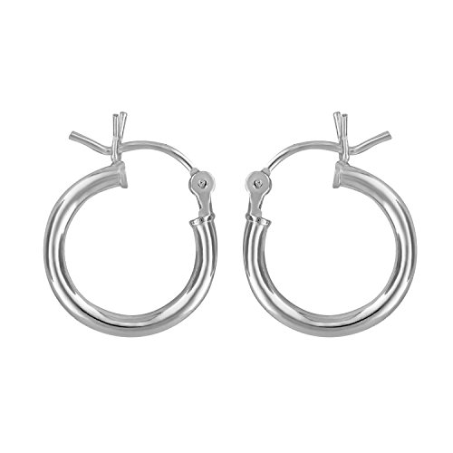 Sterling Silver Small Huggies Earrings
