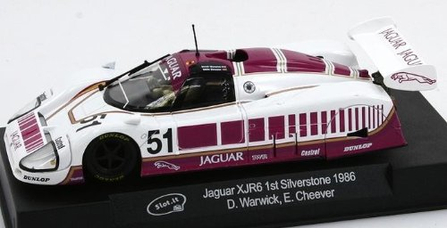 1/32 Slot.It Slot Cars - Jaguar XJR-6 - No. 51 (SICA07D) from Slot.it