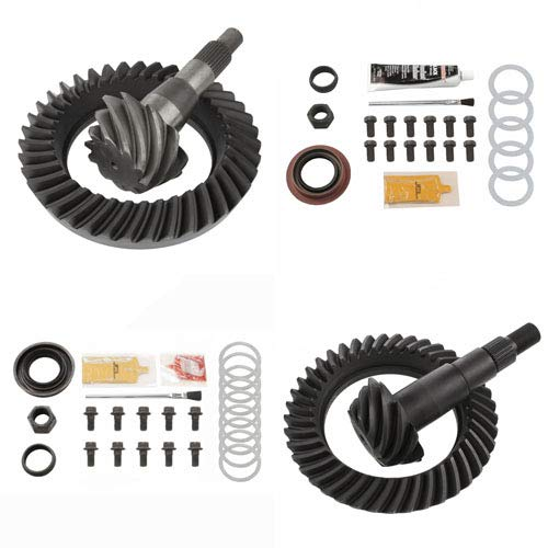 4.56 RING AND PINION GEARS & INSTALL KIT PACKAGE - 8 IFS FRONT / 9.25 REAR