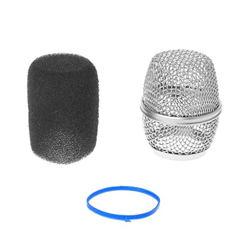 (SimpleLif Microphone Ball Head Mesh Grill Fits for Shure Beta87a Replacement Ball Head Grilles)