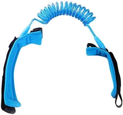 Color Naranja y Azul LAAT con Enlace y arn/és de Seguridad Pulseras de Seguridad para prevenir Perder a los ni/ños o beb/és