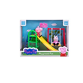 Peppa Pig Playground Fun Playset with Peppa Pig & Suzy Sheep