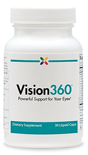 Stop Aging Now Vision360 1-A-Day Vision Support Complex Liquid Capsules