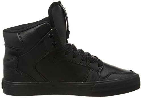 Supra Noir Black Red Hautes black Mixte Vaider Sneakers Adulte OBOwxHrv