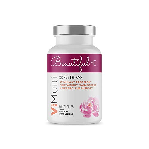 Beautiful Me Skinny Dreams Night Time Fat Burner. Non-Stimulant Weight Loss Supplement for Women.