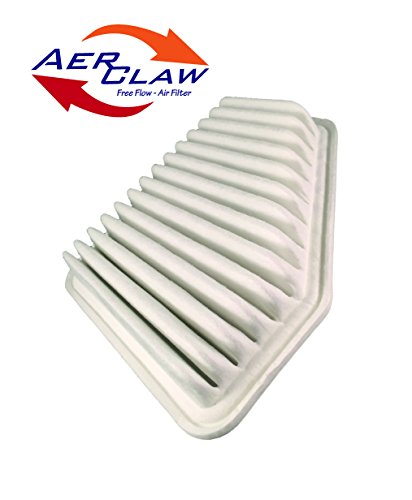AerClaw ATC-711,Free Flow Engine Air Filter, fits Toyota Camry V6, (Camry V6)