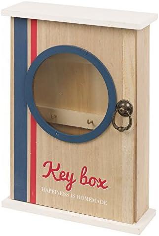 Panorama tiendas de madera caja para llaves 6 ganchos cerradura ...