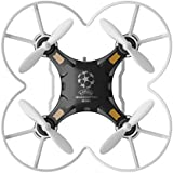 Kids 2.4G RC Hexacopter 4CH 6-Axis Gyro RTF RC Drone Quadcopter Pocket Quadcopter Mini Aircraft Toy Black
