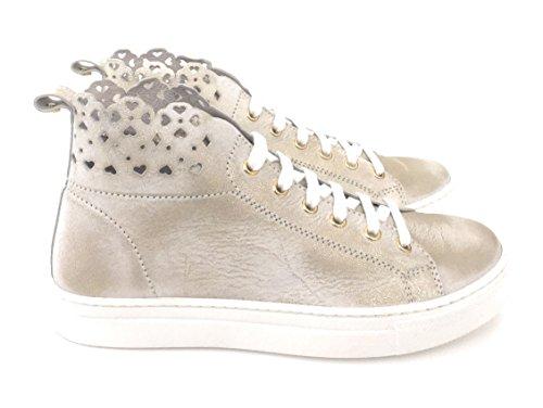 Sneakers Veau Cuir 100 Platine 36 Twinset De qrRqwBC