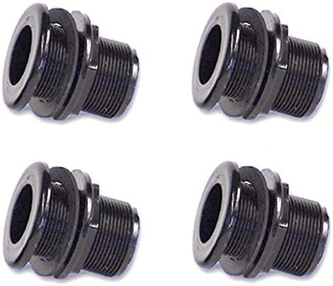 Lifegard Aquatics 3//4-Inch Double Threaded Bulkhead Fоur Расk