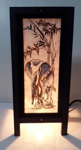 LAMPS BLUE ELEPHANT COLLECTION THAI DECOR STYLE BEDSIDE TABLE LIGHT From Thailand (Dyson Extender compare prices)