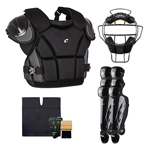 CHAMPRO Sports Varsity Umpire KIT-Black Black (Renewed)