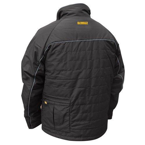 DEWALT DCHJ075D1-M Quilted Heated Work Jacket, Medium, Black