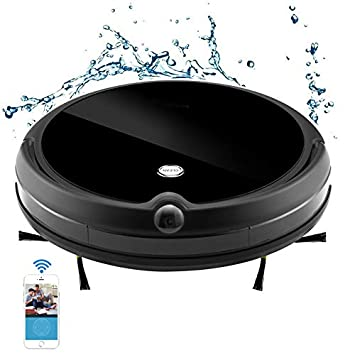 Robot aspirador A13 En Black Floor Cleaner mini Sweeper anti - ladrón con HI - Fi cámara 3D Mapa Video funcion de chat aljofifar seco/húmedo: Amazon.es: ...
