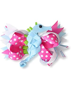Baby-Girls Newborn Seahorse 3-In-1 Bow