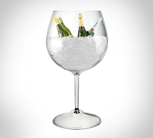E GLASS JUMBO MARTINI GLASS CHAMPAGNE FLUTES BIG MARTINI GLASS 19.8