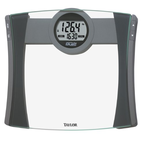 Taylor Precision Products Glass CalMax and BMI Electronic Scale by Taylor Precision Products