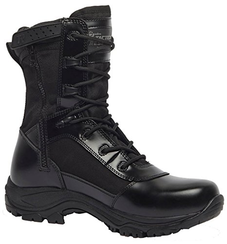 Belleville Tactical Research Tr908z Class A 8  Hot Weather High Shine Side Zip Boot