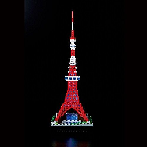 nanoblock Tokyo Tower Deluxe Edition NB-018 by Kawada (Image #11)
