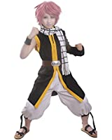 Miccostumes Men's Fairy Tail Natsu Dragneel Cosplay Costume